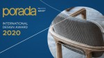 PORADA INTERNATIONAL DESIGN AWARD 2020