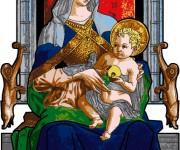 Crivelli-Madonna col bambino_Polittico