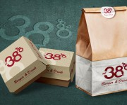 al38 burger & drink - food packaging