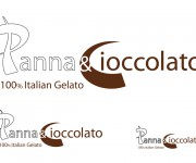 logotipo panna e cioccolato by emporio kreativo design
