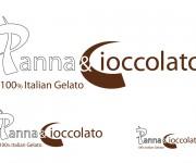 logotipo panna e cioccolato by emporio kreativo design