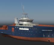Cabo de Hornos very fast ship reconstruction