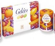 Confezioni di caramelle Gelées.