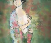 illustrazione per ebook sul tumore alla mammella, edito da nota casa editrice scientifica