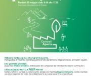 Locandina (format) Centrali Aperte di Enel Green Power 2019