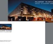 Invito - palasport olimpico - Agenzia Torino 2006