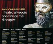 Teatro Cilea - RC - Manifesto Stagione Teatrale 07/08