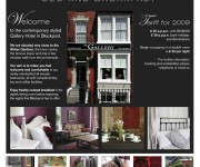 Flyer B&B - The Gallery - Blackpool - UK