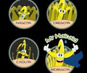 Creazione personaggio Mr Hairaid giallo