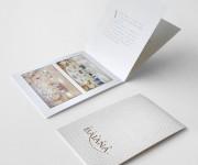 brochure verticale punto metallico