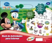 Block de Actividades para Colorear - Licencia Disney