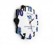 orologio in cartone strutturale