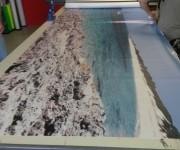 Stampa banner fotografico alta qualità 1,37x10 metri