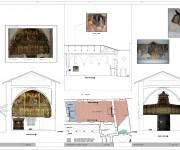 Chiesa della Beata Antonia (AQ) recupero frammenti di affresco post sisma