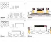 Studio e realizzazione comunicazione per stand