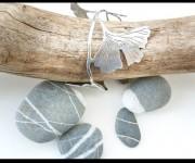 Bracciale foglie di ginkgo