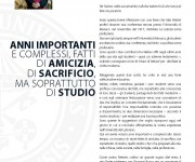 PONTIFICIA UNIVERSITA' LATERANENSE, Rivista interna-Progetto grafico, imp.6