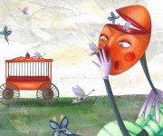il pagliaccio arancione