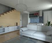 proposta di arredo per un alloggio a S.Donà di Piave (committente un'agenzia immobiliare)