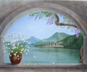 Finestra sul lago di Como