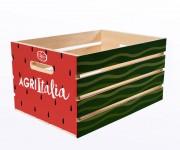 cassetta frutta packaging per società di coltivazione agritalia