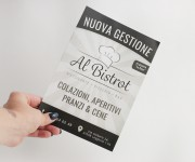 Flyer nuova apertura ristorante