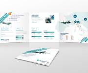 Brochure promozionale per Air Dolomiti
