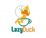 logo lazy duck 01