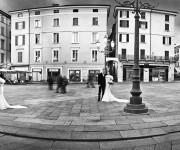 Brescia Matrimonio - Morris Moratti - Foto Pop Art
