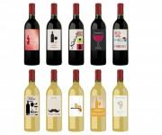 Etichette Bottiglie Vino