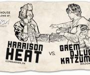 Facebook Cover - Harrison Heat, Dj Lugi, Katzuma x Planctoon @ Arteria, Bologna