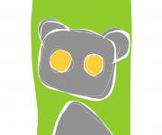 orso grigio - ideAZIONIvettoriali
