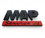 insegna cartone MAP
