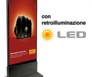 Totem luminoso LED