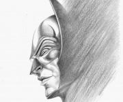 omaggio a Batman - tecnica: matita
