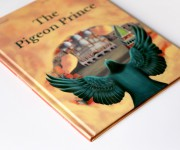 The Pigeon Prince - Children's book illustration