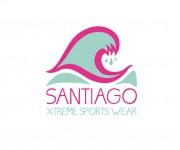 Logo: Santiago Xtreme Sports Wear