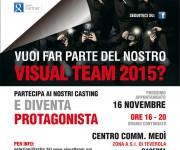 Locandina Casting Visual Team