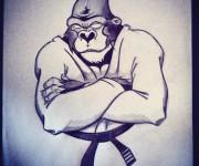 Gorilla Kimono 2