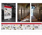 Studio e realizzazione pannelli per mostre Fondazione Dominato Leonense