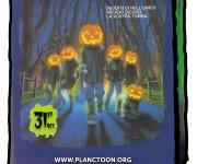 Adesivo Halloween night Planctoon