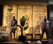 Fondo per vetrina Mason's - Milano