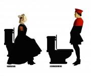 stikers toilette maledetti toscani