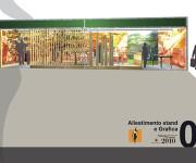 Progettazione allestimento stand Parco Alpi Marittime e Mercantour per il Salone del Gusto di Torino 2010 zoographico in collaborazione con studio em_architettura di Sondrio (So)