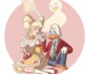 Duck and Carbonara