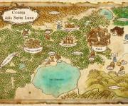 mappa contea delle sette lune