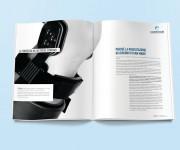 Brochure per Corehab - Sistemi per la riabilitazione motoria