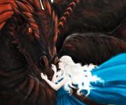 daenerys drogon detail