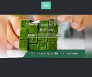 sito web mobile Siqual.it con personalizzazione grafica