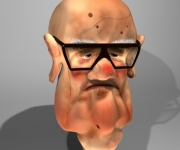 3D character Bolognese 'Anzianotti'